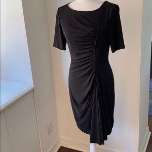 Calvin Klein ruched drape-front Dress!